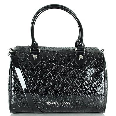 eb50aaff889b Armani Jeans Black 05257.A9 Women s Bowling Bag  Amazon.co.uk  Shoes ...