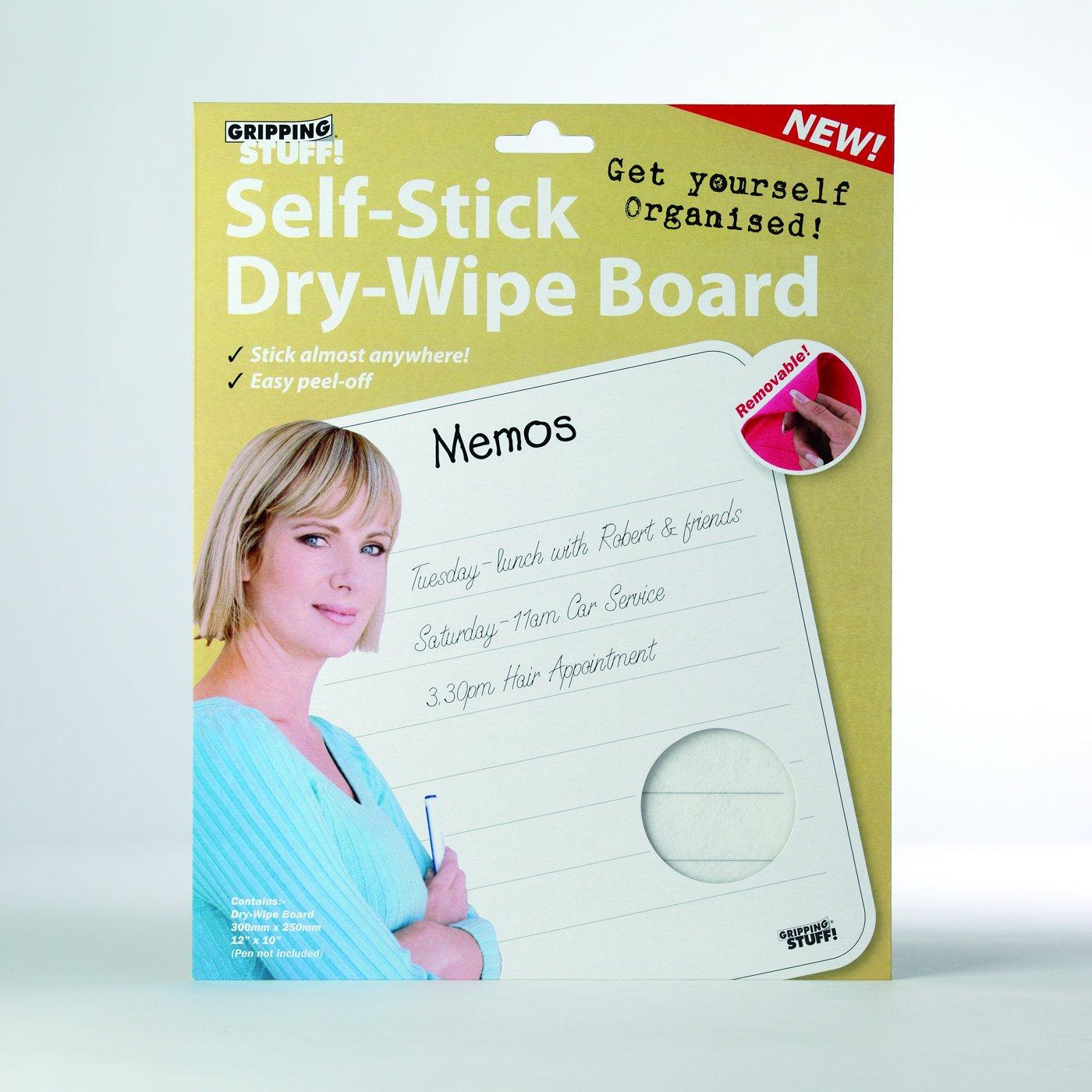Memo Board - Self Stick Dry Wipe Board - Memo Gripping Stuff