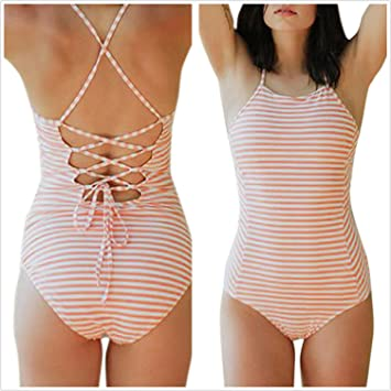 Traje De Baño de Una Pieza Para Mujer LILICAT® Bikini Push-Up Sujetador Acolchado