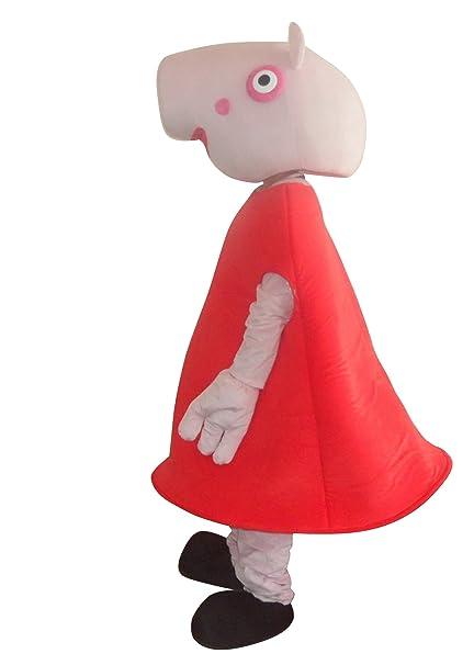 Happy Shop1 Peppa Pig Halloween Adult Mascot Costume Fancy Dress