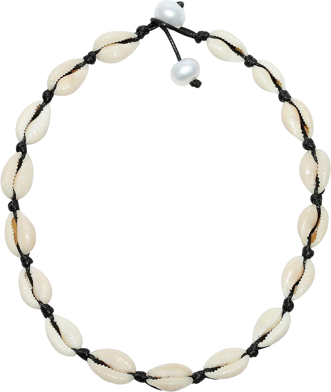 Woman/'s Beachy Boho Charm Bracelet Womans Beach Themed Birthday Gift Idea, Woman/'s Beachy Birthday Gift Shell Ocean Charm Bracelet Beaded