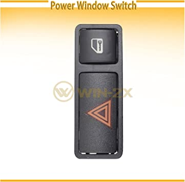 uxcell/® Hazard Warning Light Door Central Locking Switch for 1999-2008 BMW E46 E53 E85 325 X5