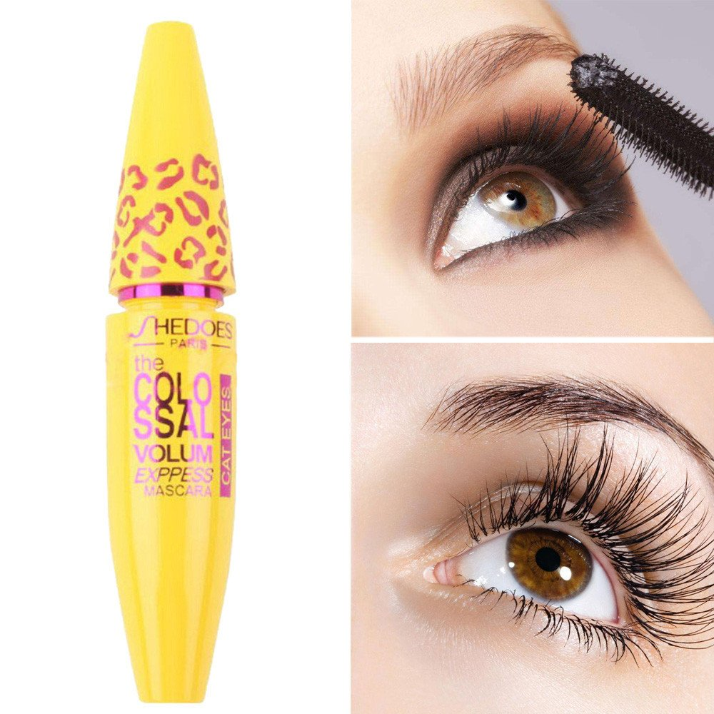 Amazon 3d Fiber Mascara Long Black Lash Eyelash Extension
