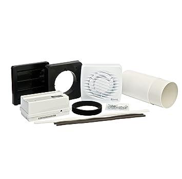 Xpelair LV100T Aérateur de salle de bain/WC avec minuterie Basse ...