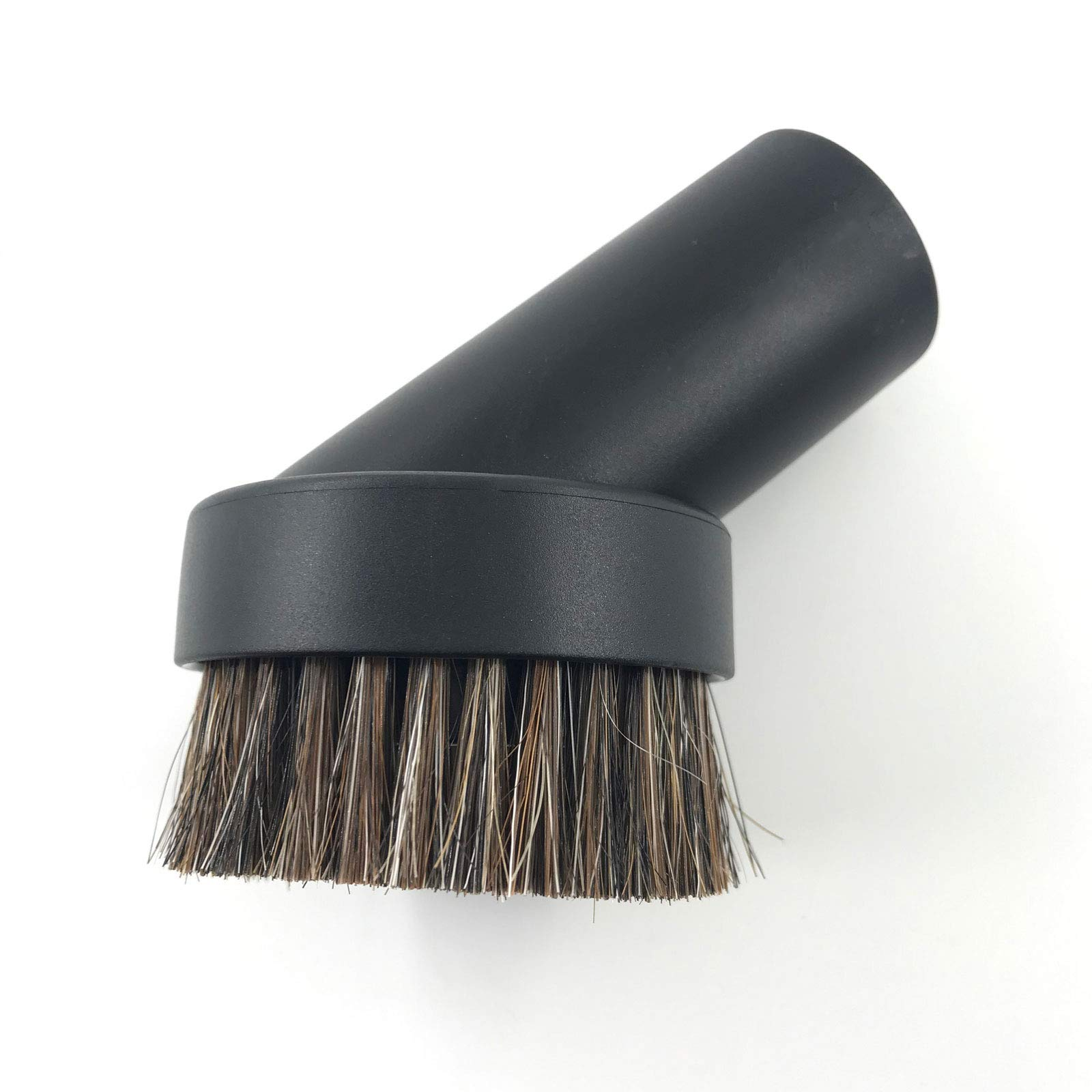 """SCStyle 1.25 Inch Round Soft Mixed Horse Hair Vacuum Cleaner Dust Brush.1.25"""" Vacuum Attachment Replacement,Please Check Our Brush Size Picture and Installation Picture Before Purchase.1Pcs"""