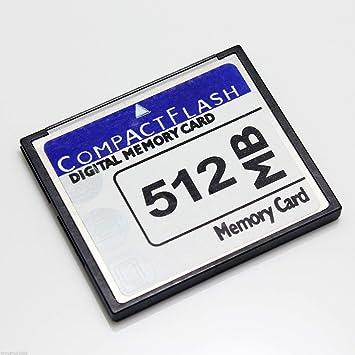 FidgetGear Tarjeta de Memoria 512 MB de CompactFlash CF ...