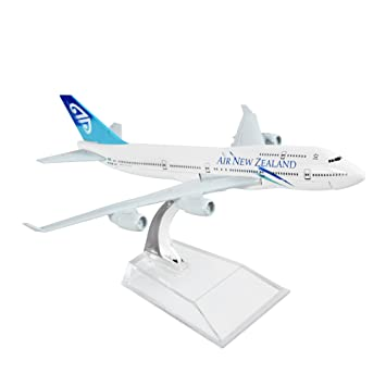 Buy New Zealand Boeing 747 16cm Metal Airplane Models Child Birthday Gift Plane Home Decoration Online At Low Prices In India