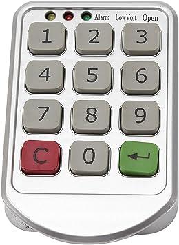Electronic Smart Door Lock Keyless Cabinet Touchscreen Password Home Security