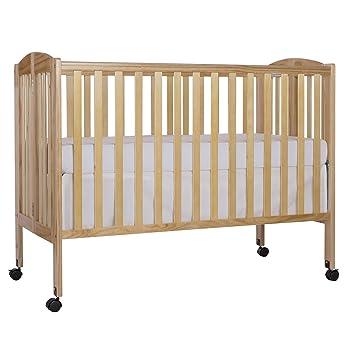 Etonnant Dream On Me Full Size 2 In 1 Folding Stationary Side Crib, Natural