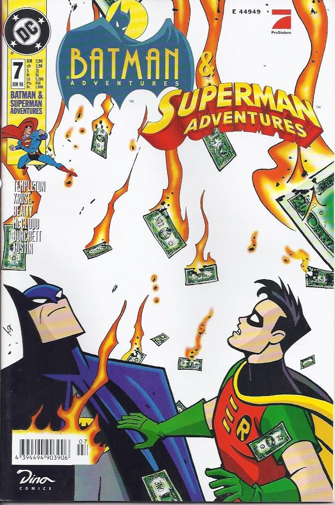 Batman Adventures & Superman Adventures Nr. 7 Broschiert – 1998 - Dino B0023TQ4CE