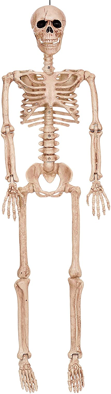 "Crazy Bonez Posable Skeleton Decoration, 36"""