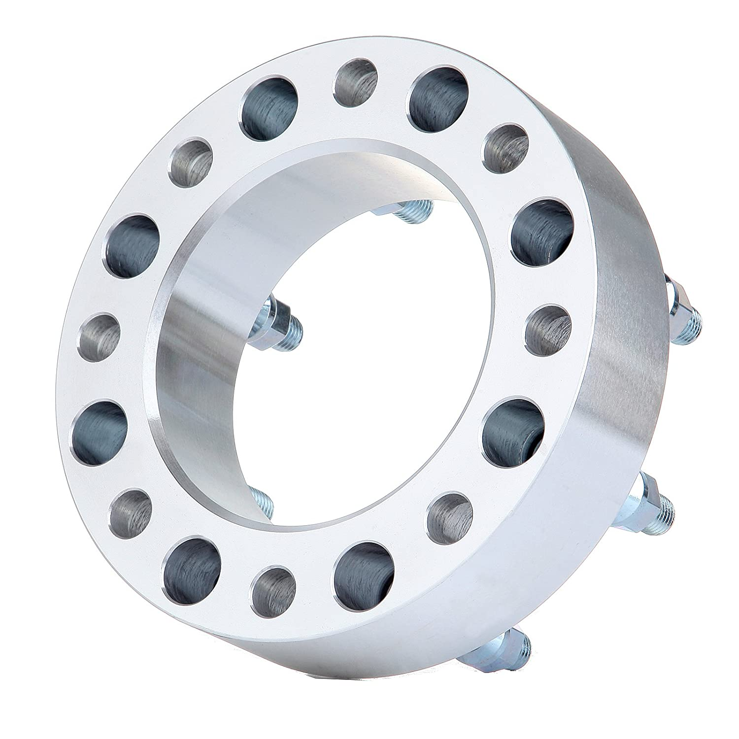 ECCPP 8X170 Wheel Spacers 2 50mm 8x170 Lug Pattern 14x2 Studs For 1999-2004 Ford F-350//Ford F-250Super Duty