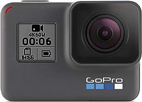 Camera Digital GoPro Hero 6 Black CHDHX-601, GoPro, Hero 6 Black CHDHX-601-RW, Preto
