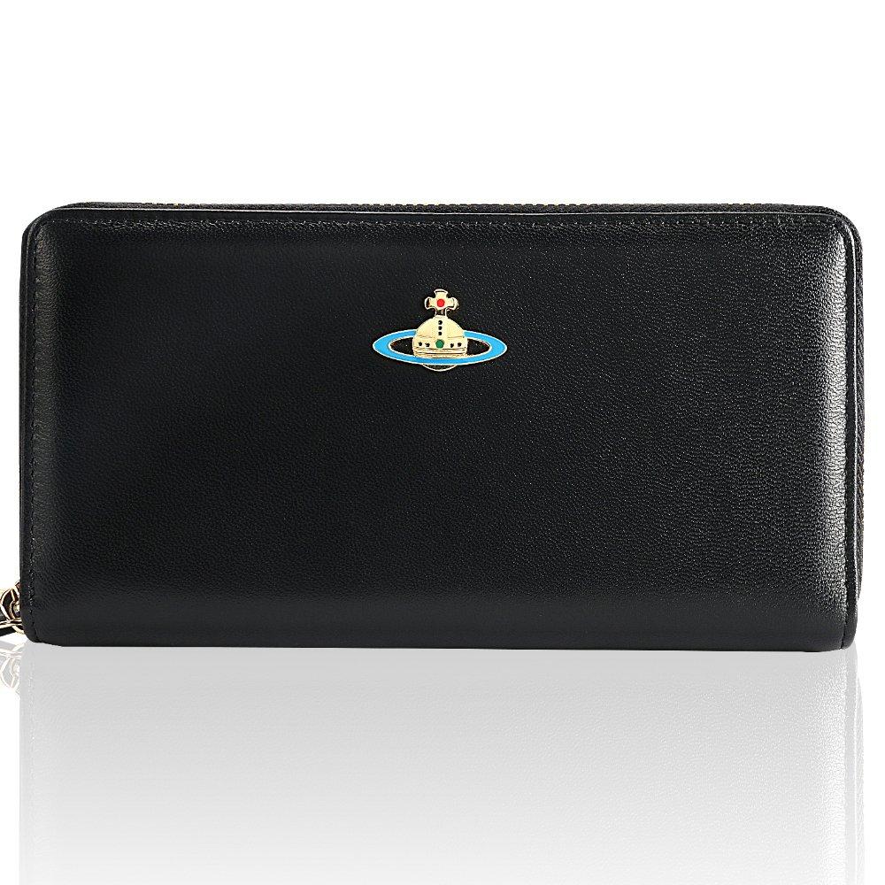 Vivienne Westwood ヴィヴィアン ウエストウッド 財布 レディース ブランド 人気 [並行輸入品] (55317,BLACK) B0782KRJBC