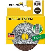 Schellenberg 41104 rolluikband Mini, breedte 14 mm, 4,5m lengte, bruin
