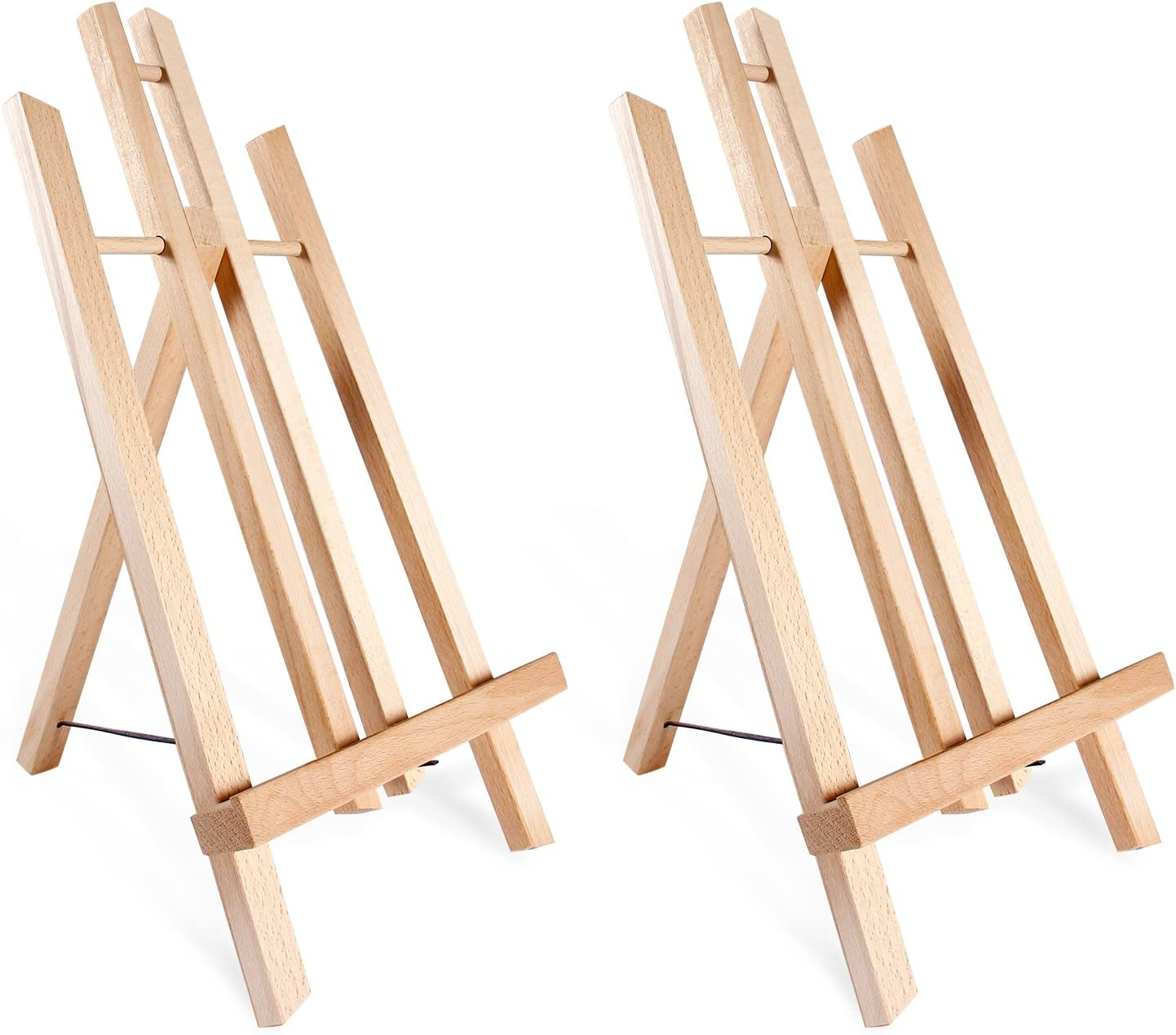 Tabletop Art Easel Set Ohuhu 14 Tall Display Stand A Frame Mini Wood Painting Easels For Kids Artist Adults Students Classroom Table Top Display 2 Pack Art Supplies Gift Amazon Ca Home Kitchen