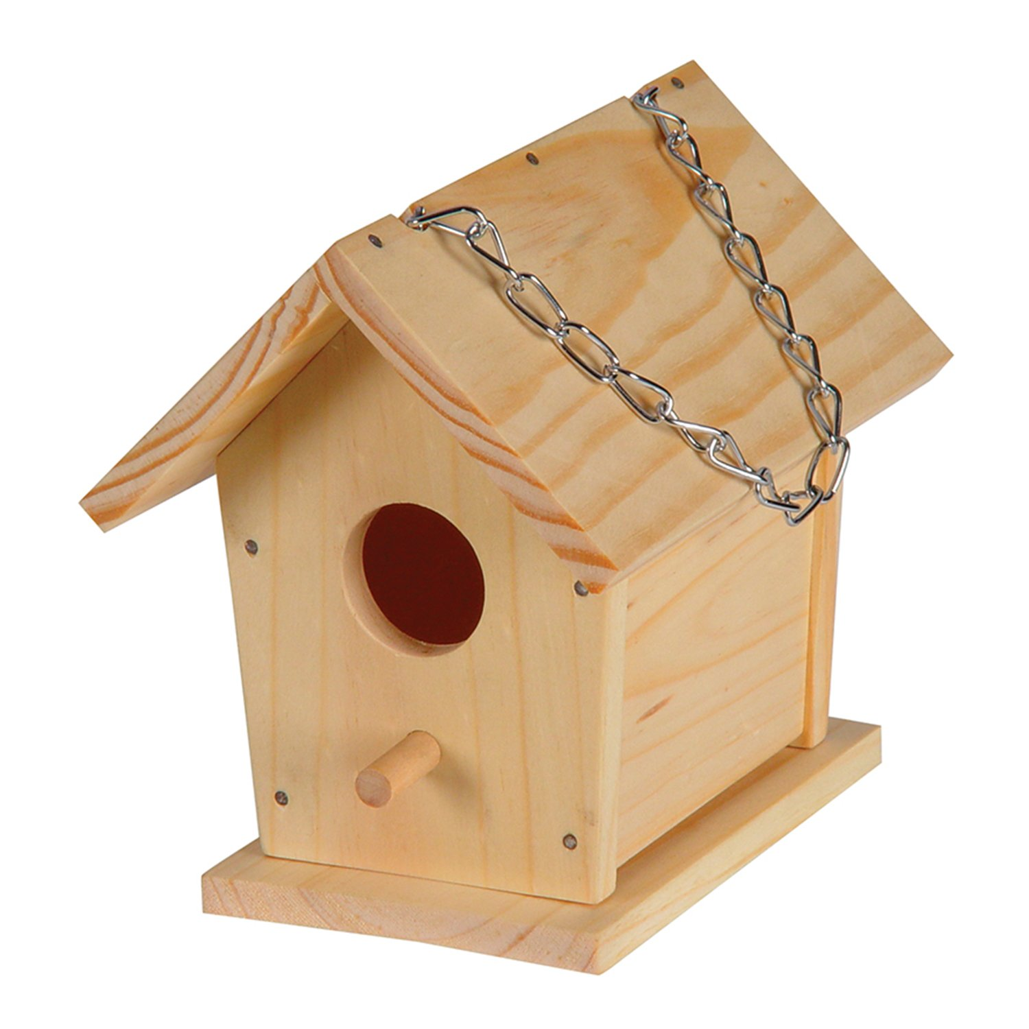 Amazon Toysmith Build A Bird House Childrens Wood Craft Kits Garden Outdoor