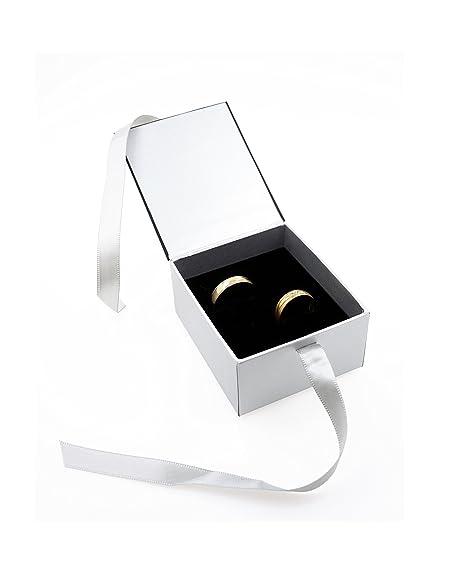 Anillo Alianzas De Funda ehringe Caja de alta calidad anillo de caja Caja para anillo de boda/San Valentín/Anillo de compromiso: Amazon.es: Joyería