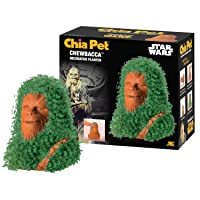 Chia CP430-01 Pet Star Wars Chewbacca with Seed Pack Decorative Pottery Planter,...