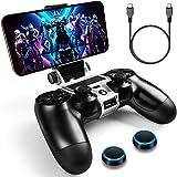 WEPIGEEK PS4 - Soporte de teléfono para PS4,inalámbrico, Compatible con Playstation Pro/Slim Dualshock 4 Control Inalámbrico