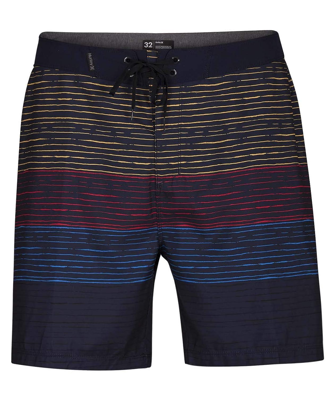 Hurley Mens Printed Stretch 18 Boardshort Swim Short