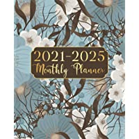 2021-2025 Monthly Planner: Nature Flowers 5 Year Monthly Planner Calendar Schedule Organizer January 2021 to December…