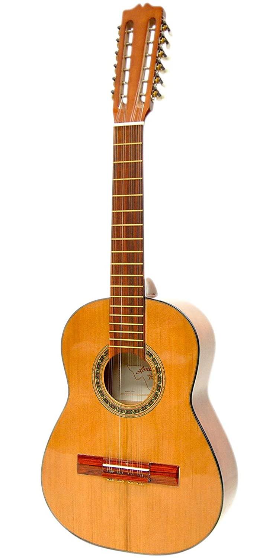 Paracho Elite Guitarra Tiple de Colombia 12 clásica guitarra acústica Natural: Amazon.es: Instrumentos musicales