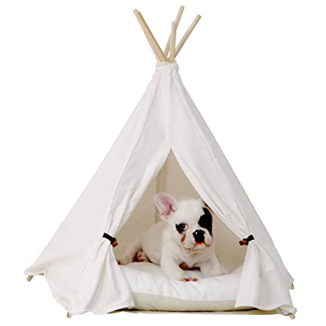 little dove Pet Teepee Dog(Puppy) u0026 Cat Bed - Portable Pet Tents u0026  sc 1 st  Amazon.com & Amazon.com : little dove Pet Teepee Dog(Puppy) u0026 Cat Bed ...