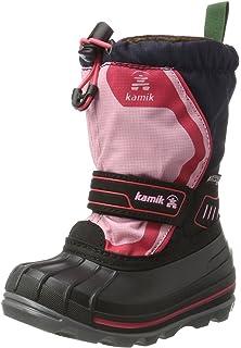 KamikTICKLE8 - botas de nieve Niños-Niñas, color Rosa, talla 35