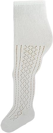 Medias de pelerina de algodón blanco para niñas, un par ...