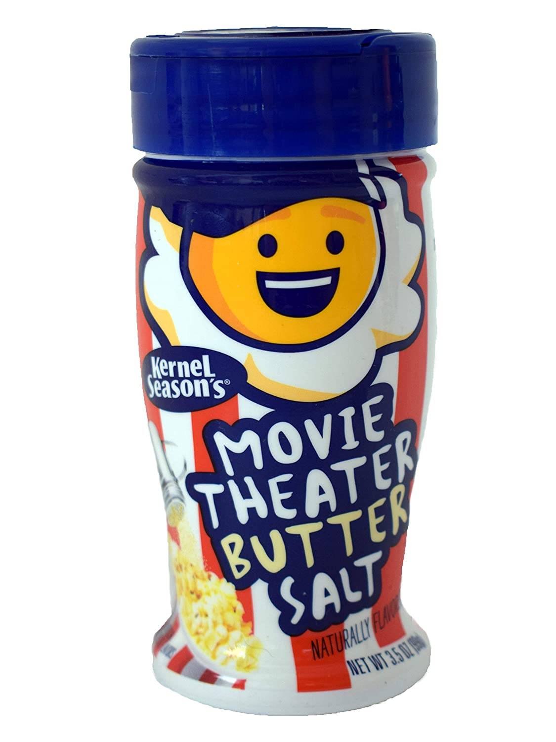 Amazon Com Kernel Season S Movie Theater Butter Salt Popcorn Seasoning Movie Theater Butter Salt 3 5 Ounce Pack Of 6 Grocery Gourmet Food
