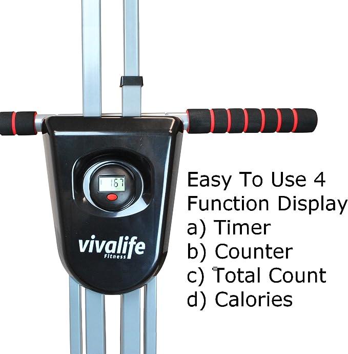 Viva la Vida Fitness vertical Climber ejercicio máquina | Max ...