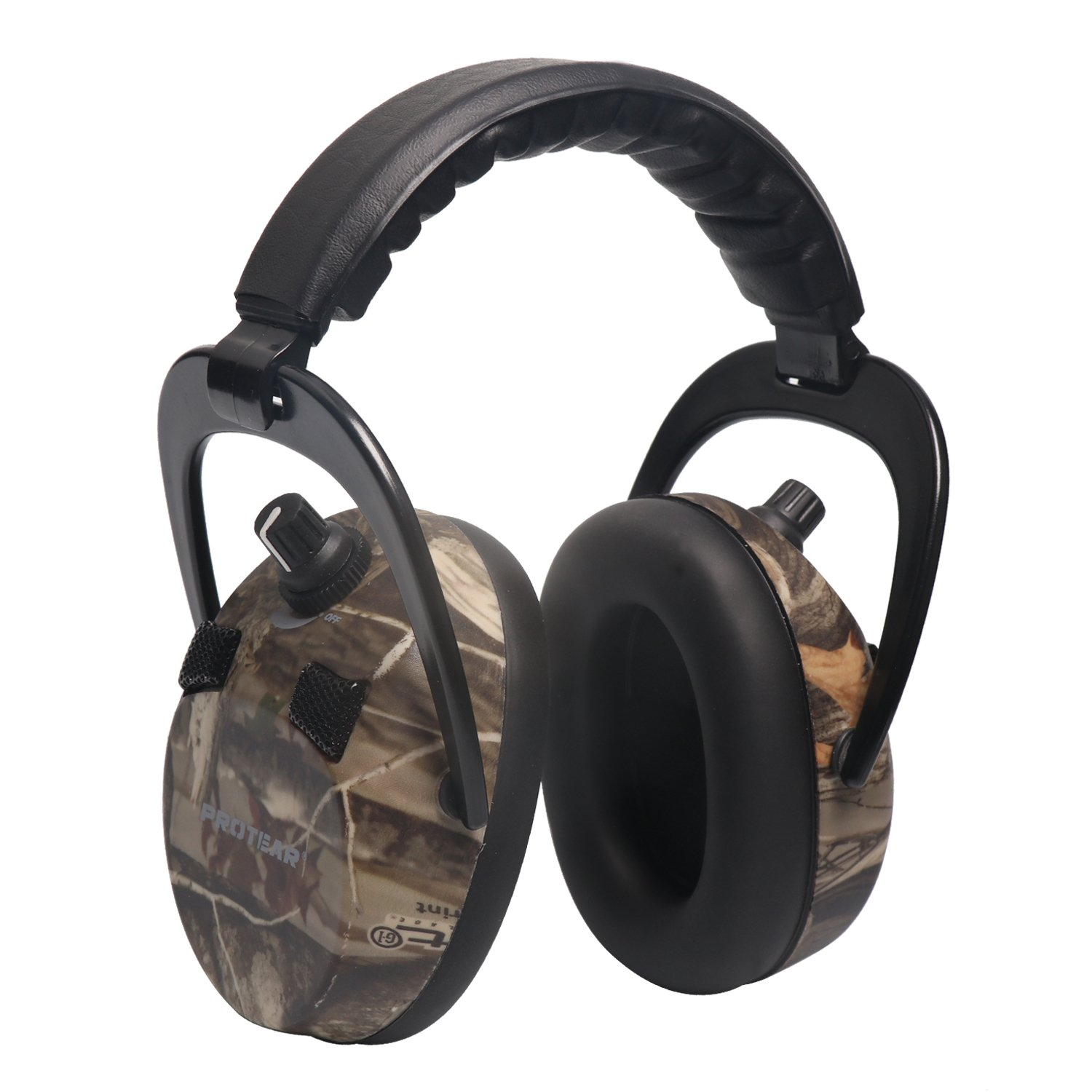 PROTEAR Electronic Ear Protection Sound Amplification Earmuff - NRR 23dB Hearing Protection Ear Muffs for Shooting/Hunting - Camouflage