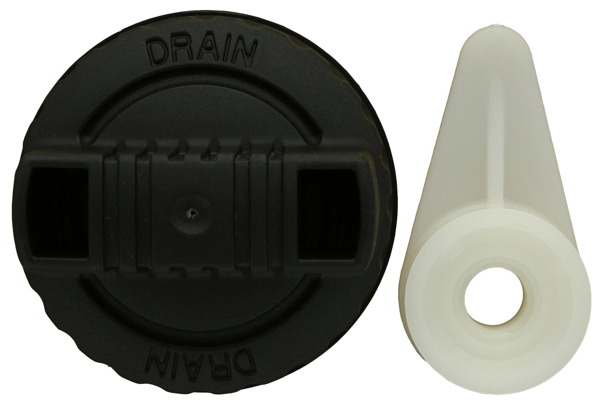 Ridgid VT2561 Genuine OEM Plastic Filter Nut and Drain Cap Kit for Pre-2010 Ridgid Wet / Dry Vacuums