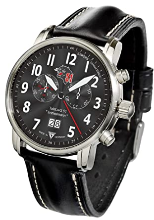 Junkers Reloj de pulsera Cronógrafo Edición Especial CH 53: Amazon.es: Relojes
