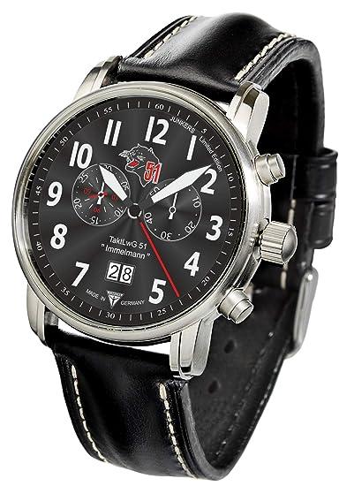 Junkers Reloj de pulsera Cronógrafo Edición Especial CH 53