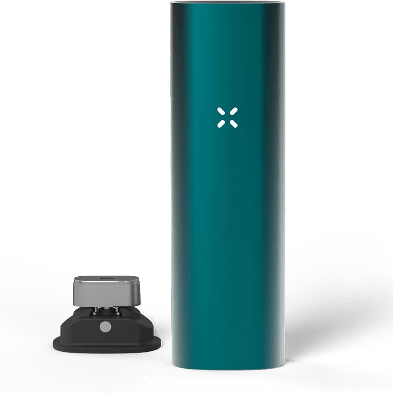Pax | PAX 3 - Vaporizador Portátil Premium - Hierba Seca Resina Wax Concentrados - Garantía 10 años - Nuevo Color - Kit Completo - Azul Mate