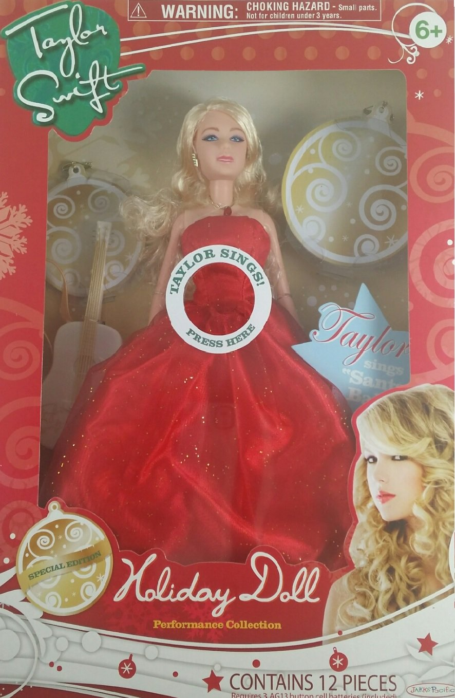RARE SPECIAL EDITION Taylor Swift Performance Ready HOLIDAY 2010 SINGING DOLL!