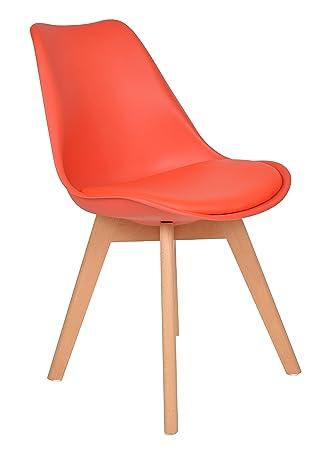 ts-ideen 1x Design Wohnzimmer Esstisch Küchen-Stuhl Esszimmer Sitz ...