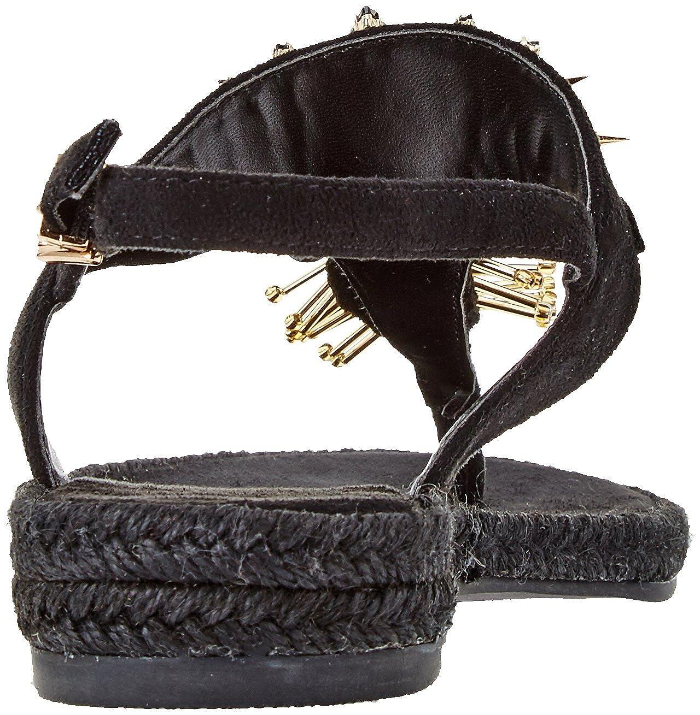 Versace Jeans Größe Damen Scarpa Zehentrenner (Nero), Größe Jeans Schwarz (Nero E899) 08a495