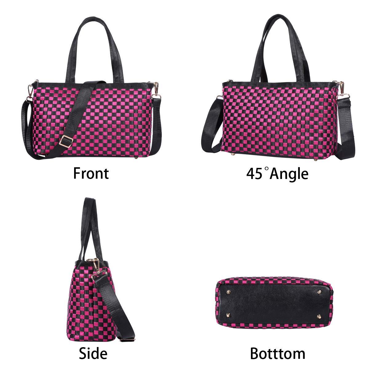 Women Handbags Nylon Shoulder Bags Top-Handle Ladies Designer Satchel Tote Bags Purse
