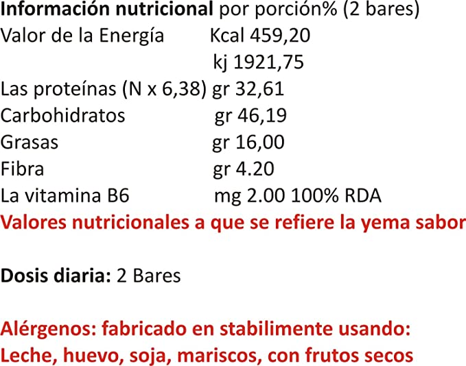 30 Barras de Proteína 50 gr Sabor bayas de vainilla: Amazon ...