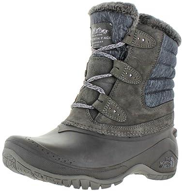 The North Face Shellista II Shorty Boot Women's Dark Gull Grey/Cloud Grey 6