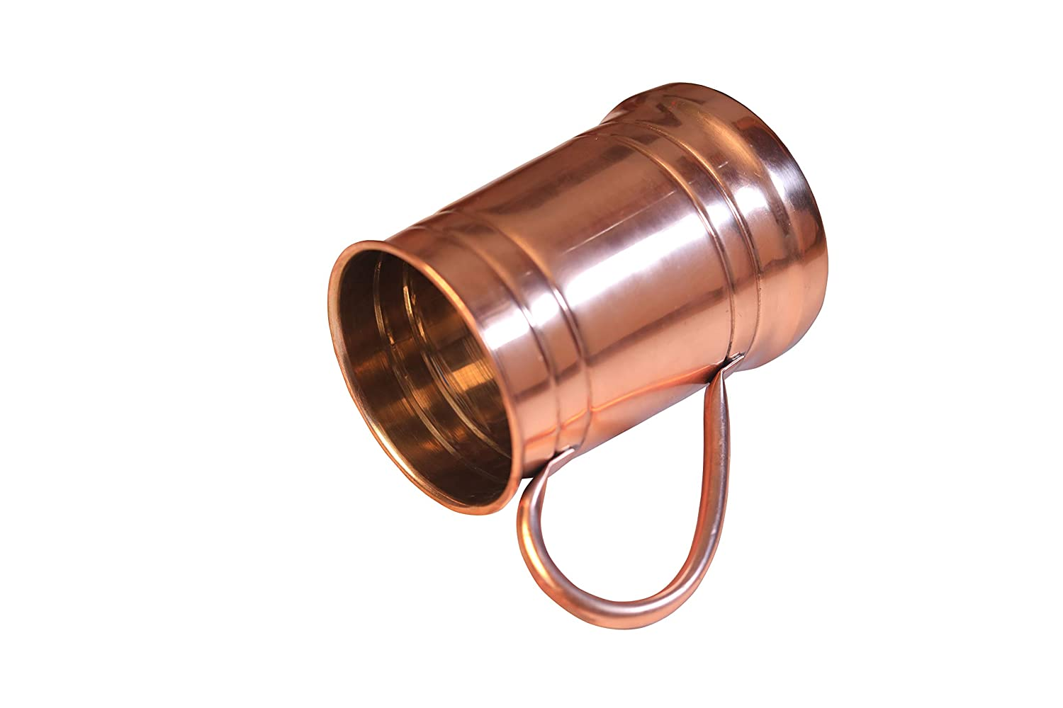 Pack of 2 with Silver Lining for All Drinks Copper Beer Mug 18 Oz