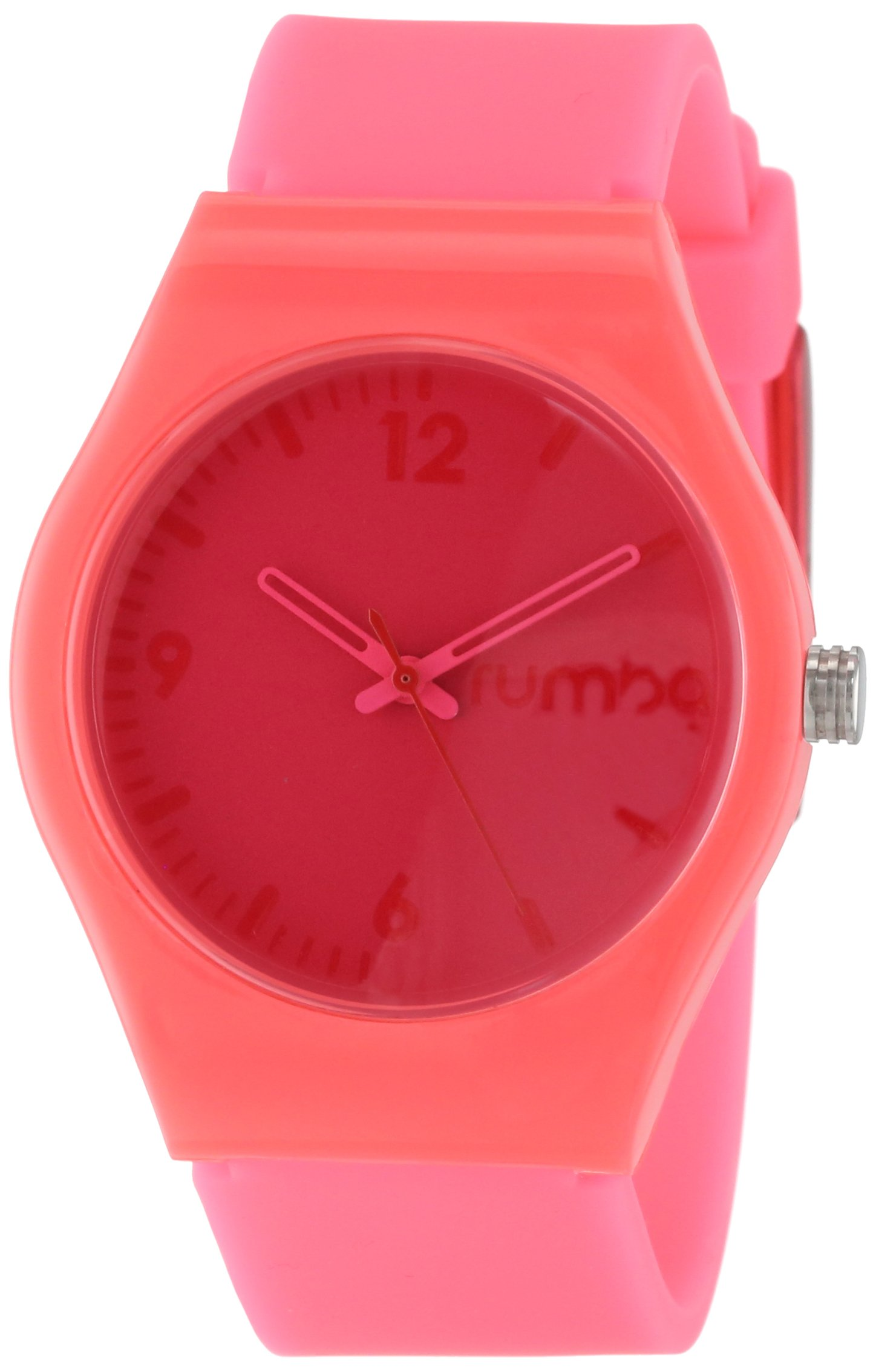RumbaTime Unisex 18835 Delancey Cotton Candy Strap Watch