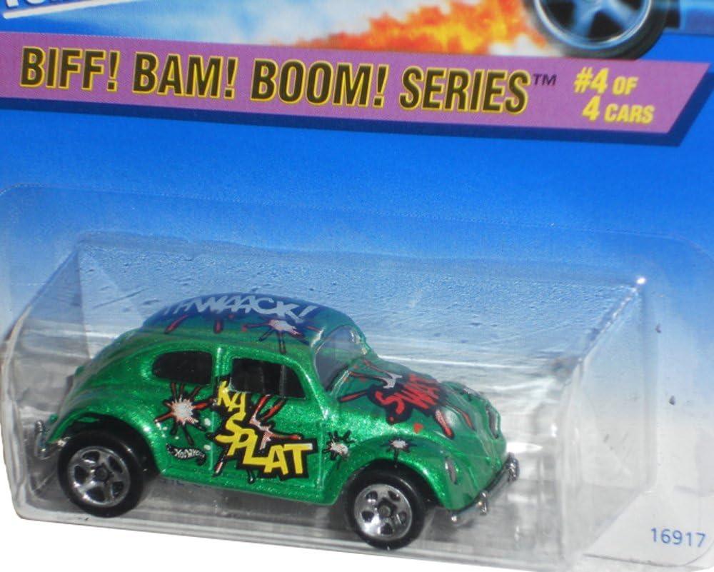 Boom Bam Biff Series #4 VW Bug #543 5-Spokes With HW Logo 2ND Base Mint by Hot Wheels
