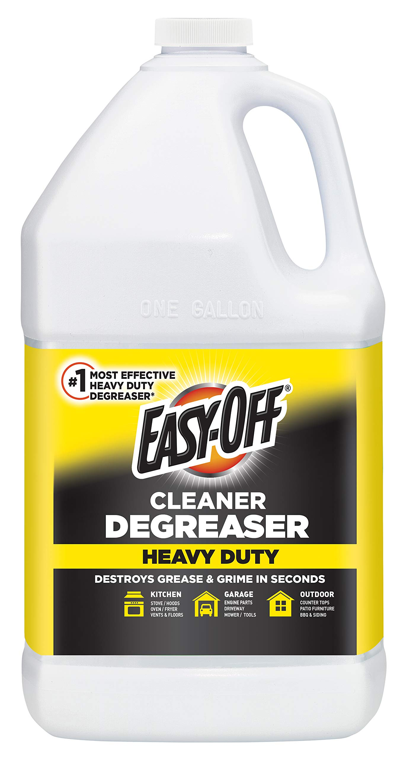 Easy Off Heavy Duty Degreaser-Cleaner, 128 Ounce by Easy Off