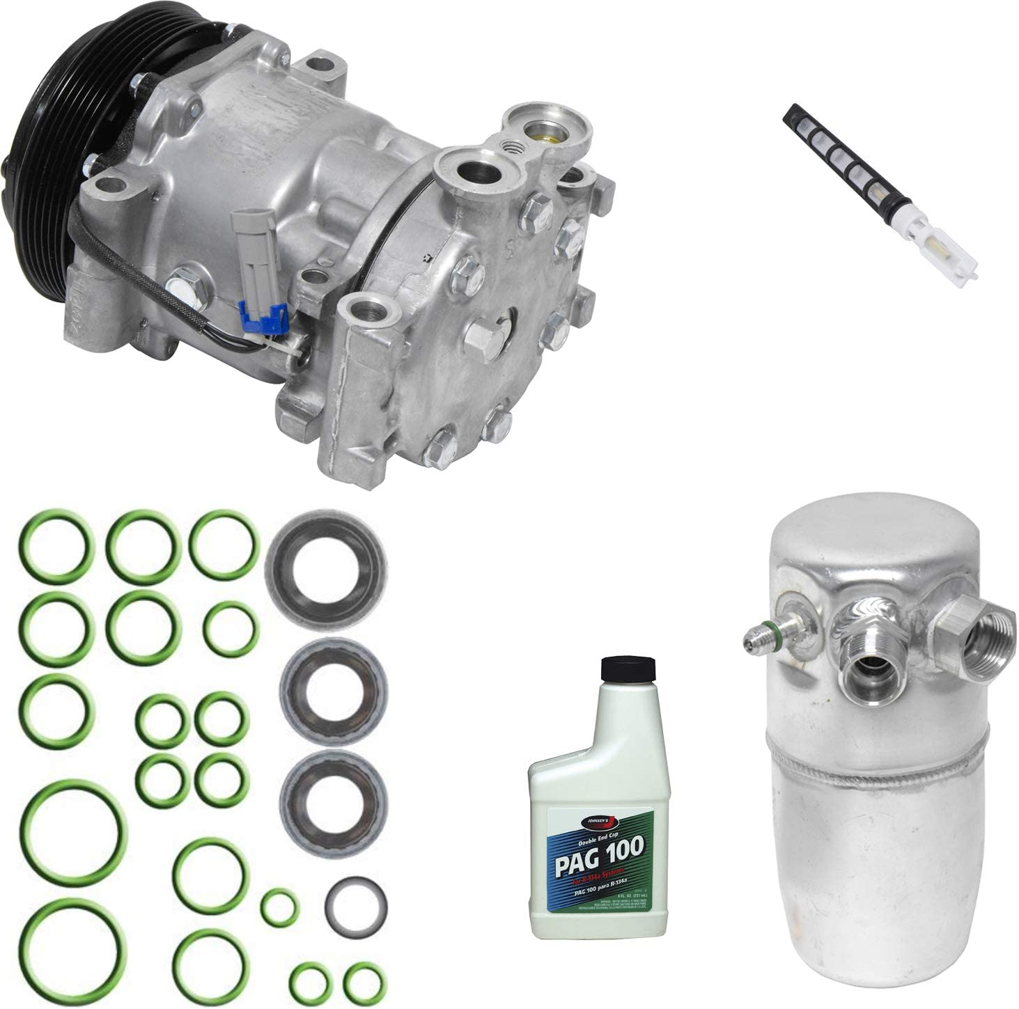 New A//C Compressor and Component Kit 1051438-15728631 K1500 C1500 K1500 C1500