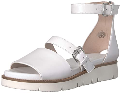 c00f7b5e6209a Nine West Women's Satoria Leather Flat Sandal
