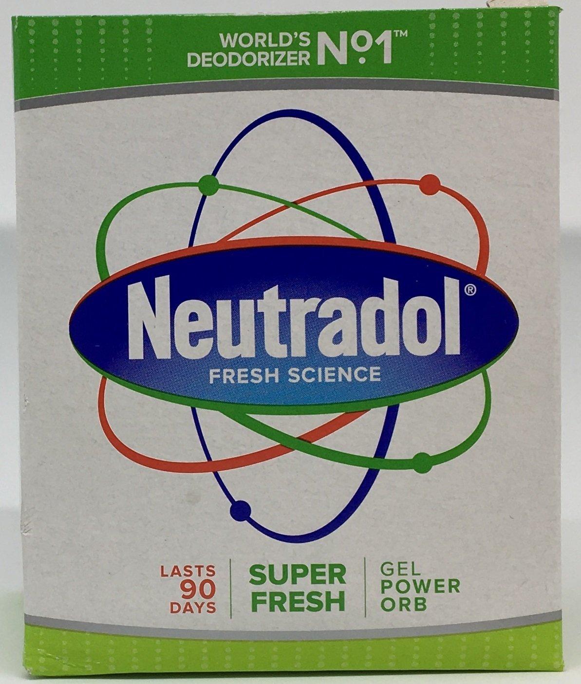THREE PACKS of Neutradol Gel Odour Destroyer Super Fresh TRTAZ11A